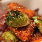 Roasted Brussels Sprouts, Red Onion, And Yam With Quinoa