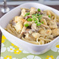 Chicken Marsala Pasta and a Virtual Potluck