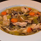 Roasted Chicken and Wild Rice Soup