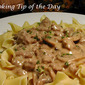 Recipe: Hamburger Stroganoff