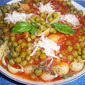 Grandma's Conchiglie and Piselli Italian Zuppa Recipe