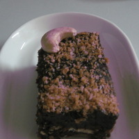 Chocolate Sesame Cake