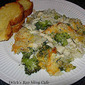 Creamy Chicken Divan over Rice Casserole