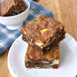 Peppermint Patty and Cream Cheese-Swirl Brownies