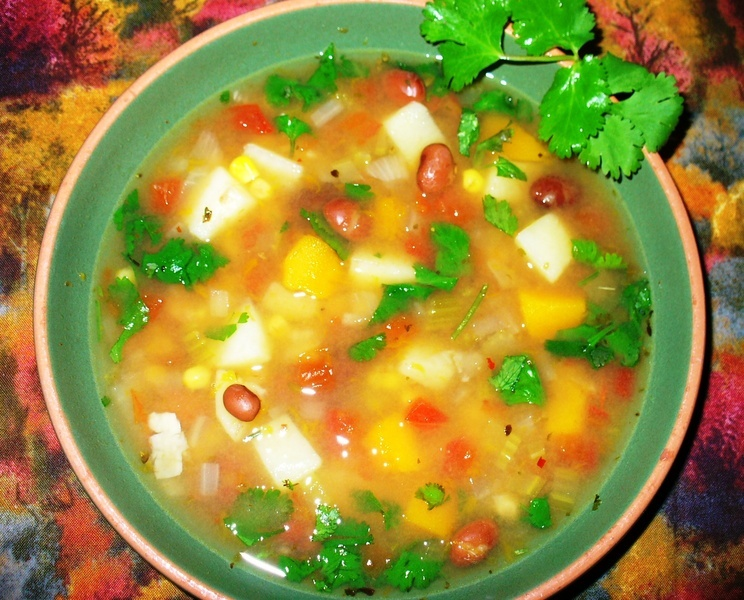 ... bean soup from copykat com crock pot mexican corn and bean soup from