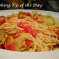 Recipe: Spaghetti with Zucchini Yellow Squash and Tomatoes