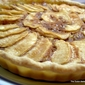 Butterscotch Apple Frangipane Tart