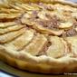 Butterscotch Apple Frangipane Tart