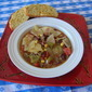 SLOW COOKER CABBAGE FIESTA SOUP