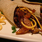 Pork Chow Mein Stir-Fry Wraps