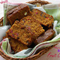 Rich Fruit Cake or Plum Cake (with caramel syrup and without alcohol)