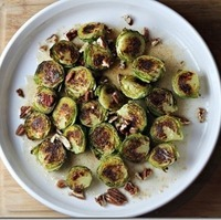 Brown Butter and Maple Brussel Sprouts with Pecans