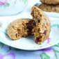 Banana Chocolate Chunk Cookies (Gluten-Free, Refined Sugar-Free, Vegan)