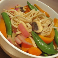 Easy Veggie Garlic Stir Fry