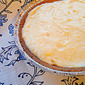 Lemon Sour Cream Pie {Improv Cooking Challenge}
