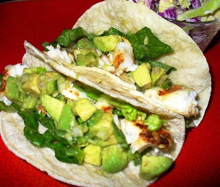 Grilled Fish Tacos Recipe by Lynne - CookEatShare