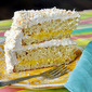 Lemon Marshmallow Coconut Cake