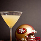 San Francisco 49er Spicy Bay Martini