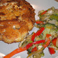 Almond Parmesan Crusted Chicken