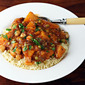 Recipe for vegan butternut squash and chickpea stew