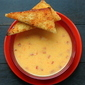 Pimento Cheese Soup with Tangy Toast