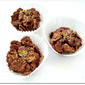 No Bake Nutella Covered Cornflakes Cookies