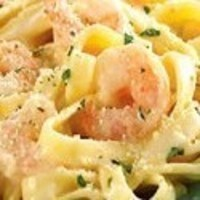 Quick & Easy Shrimp & Alfredo Fettuccini