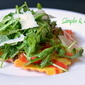 Butternut Squash Ravioli with Arugula