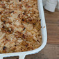 warming onion & white bean bake