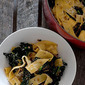 pasta with cavalo nero & caramelised onion