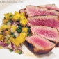 Blackened Tuna with Mango Salsa