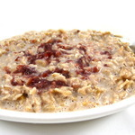 Heart Healthy, Peanut Butter and Jelly Oatmeal
