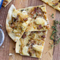Bacon and Brie Flatbread