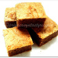 Eggless White Chocolate & Peanut Butter Blondies