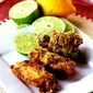 Lime and Poblano Marinated Fried Chicken Wings