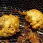 Beer Battered Haggis Balls with a Whiskey Mustard Sauce