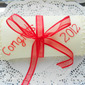 Jelly Roll Diploma Cake