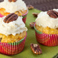 Carrot Oatmeal Raisin Cupcakes