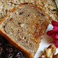Hearty Oatmeal Bread . . . with Walnuts & Sweet Dried Cherries