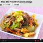Ketchup Miso Stir-Fried Pork and Cabbage - Video Recipe