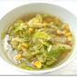 Cabbage & Corn Soup