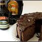 Devilish Angel Food Cake with Mudslide Ganache