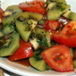 A most colorful salad dedicated to my Aussie friends
