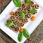 Mushroom Pesto Pinwheels (Gluten Free, Dairy Free) for Amy's Baby Shower!