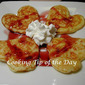 Recipe: White Chocolate Chip Pancakes with Raspberry Syrup