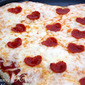Valentines Day Family Dinner {Heart Shaped Pizza & Jell-O Poke Cupcakes}