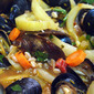 Our Super Bowl Food - MUSSELS!