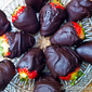 Chocolate Covered Strawberries and a Valentine's Day Blog Hop