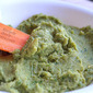 Spinach Hummus that Kids Will Eat