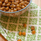 Za'atar and Lemon Roast Chickpeas & a #GaiamTV Giveaway